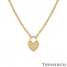 Tiffany & Co. Yellow Gold Return to Tiffany Necklace